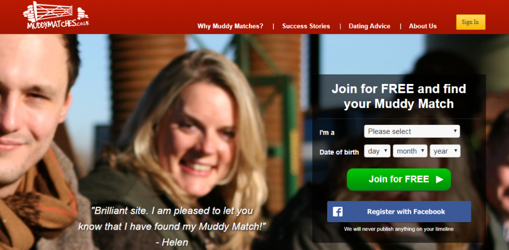 Muddy Matches Dating