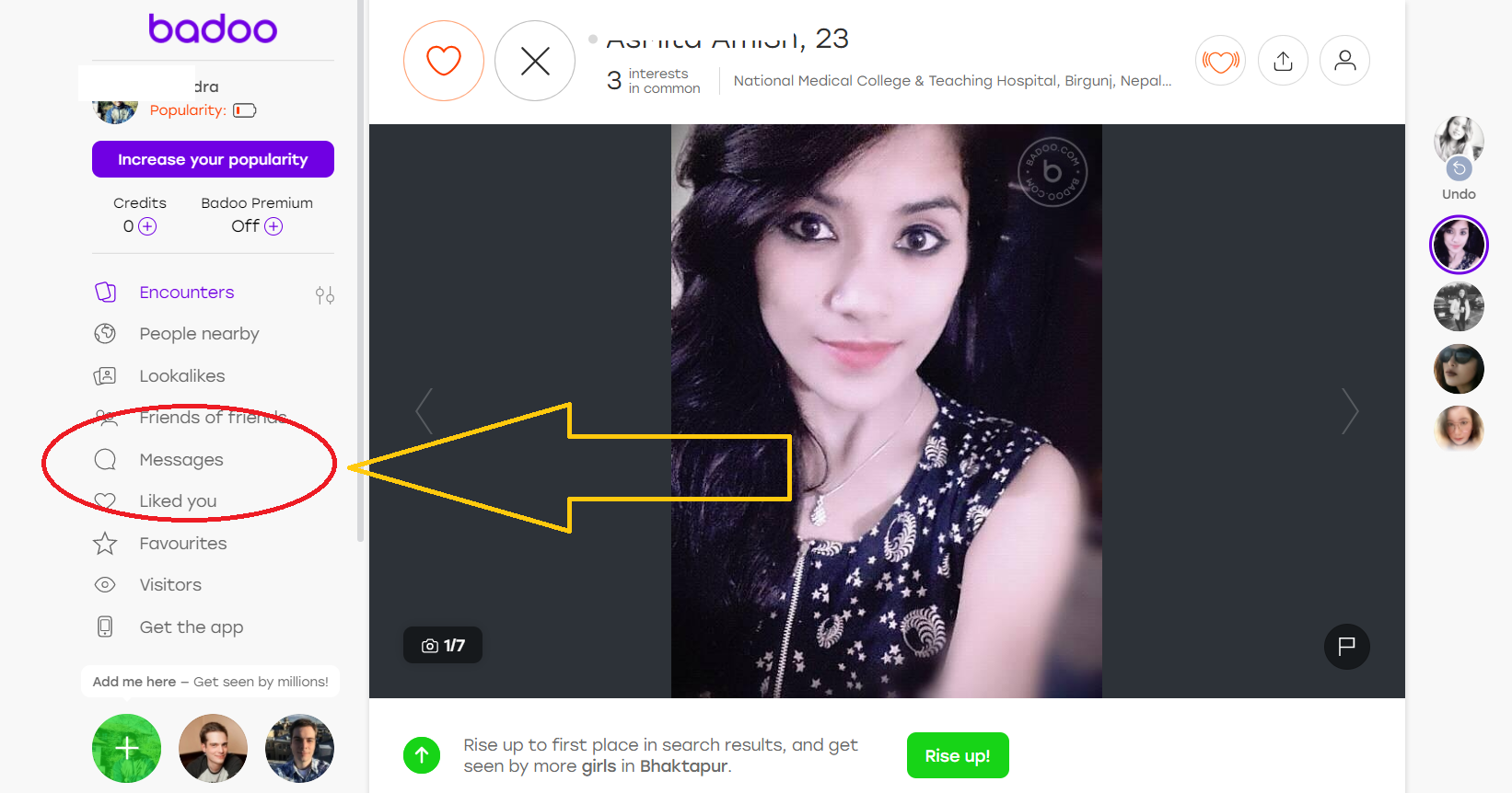 How To Chat On Badoo Online Dating