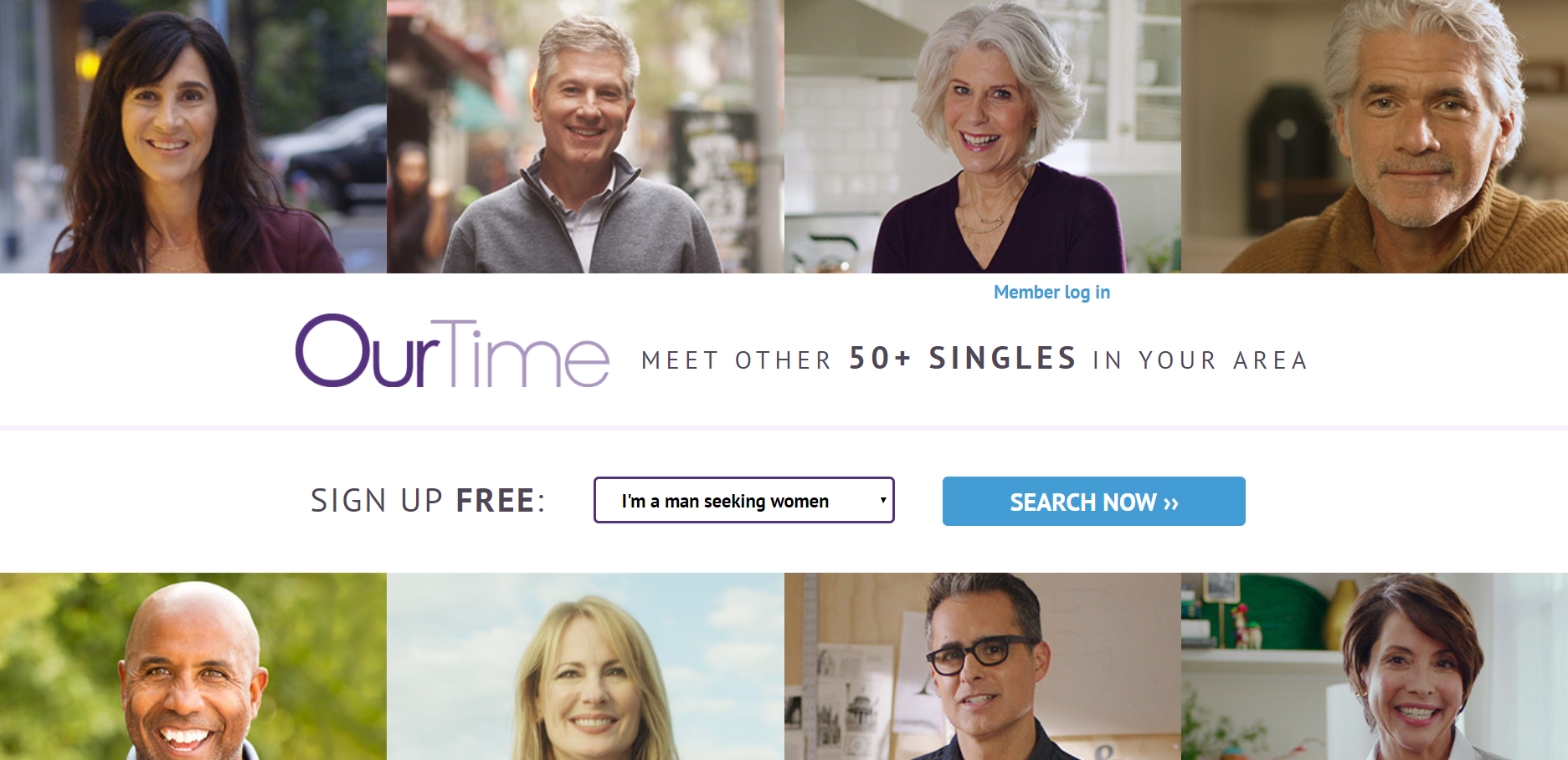 Create OurTime Online Dating Account (App And Website)