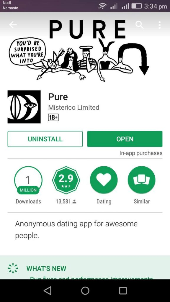 How To Download And Login Pure Dating App
