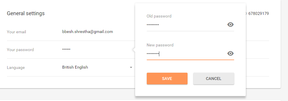 loveaholics reset and change password