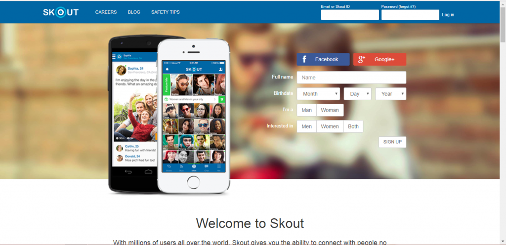 How To Reset Skout Password
